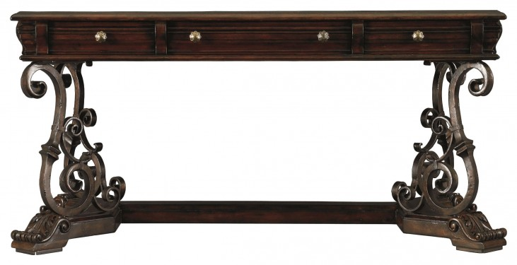 Costa Del Sol Dark Woodtone Affari Privi Business Table