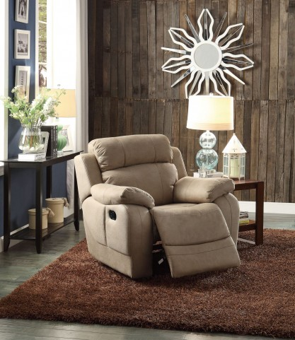 Marille Camel Glider Reclining Chair