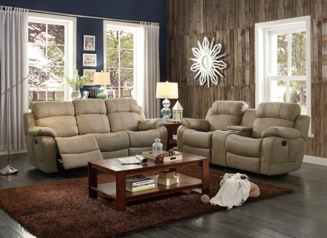 Marille Camel Double Reclining Living Room Set