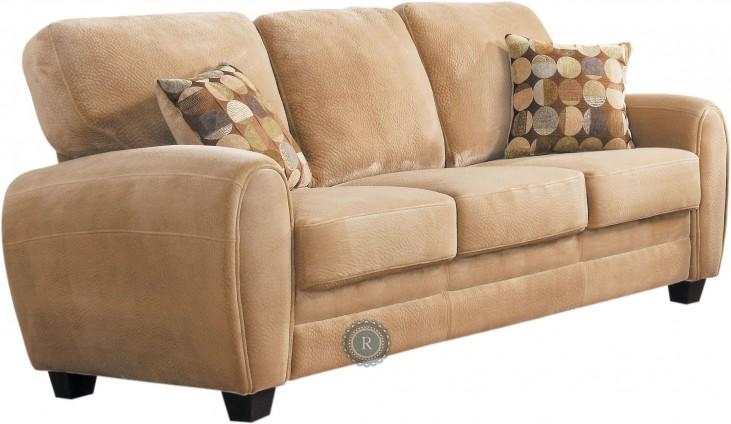 Rubin Brown Sofa