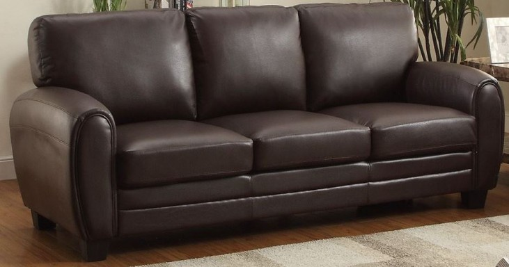 Rubin Dark Brown Sofa