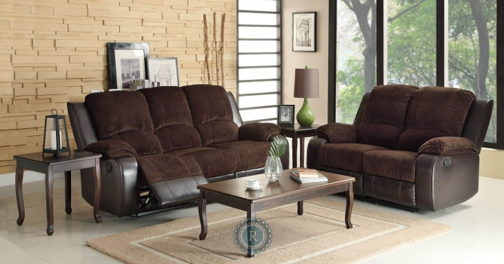 Bunker Reclining Living Room Set