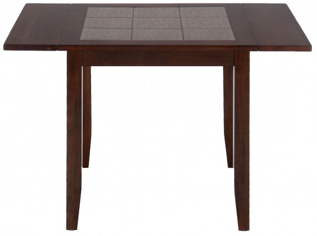 Caleb Brown Terra Tiles Drop Leaf Extendable Dining Table