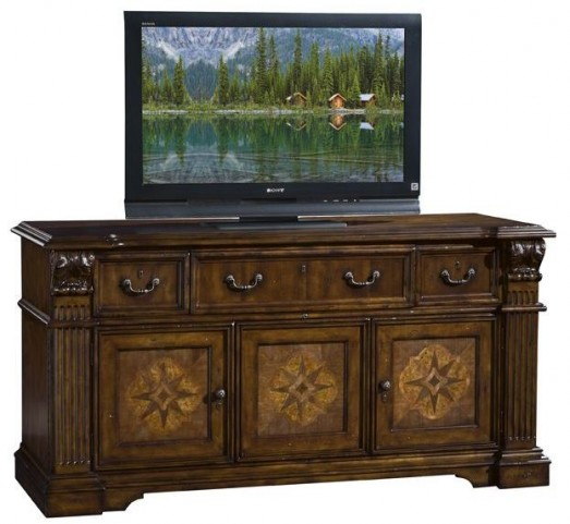 Laredo Warm Brown TV Console
