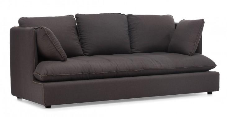 Pacific Heights Charcoal Gray Sofa