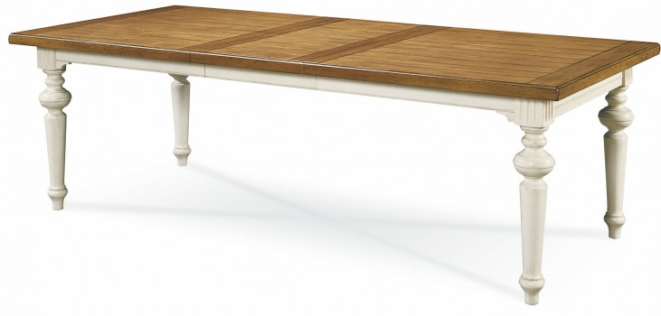 Summer Hill Cotton Rectangular Extendable Dining Table
