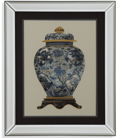 Blue Porcelain Vase II Wall Art