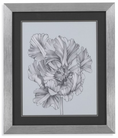 Silvery Blue Tulips I Wall Art