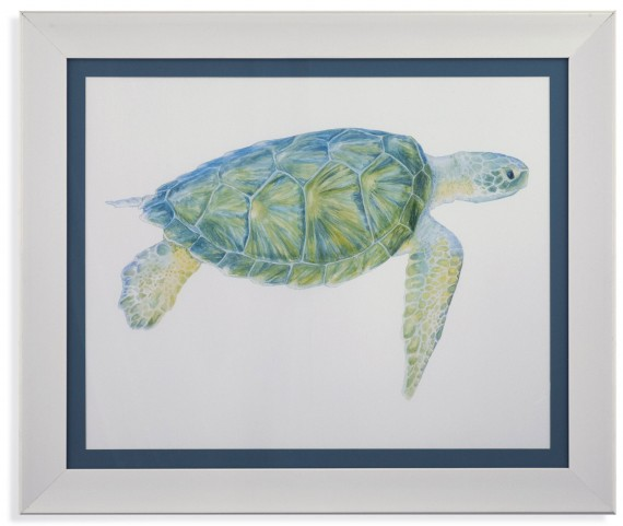 Tranquil Sea Turtle I Wall Art