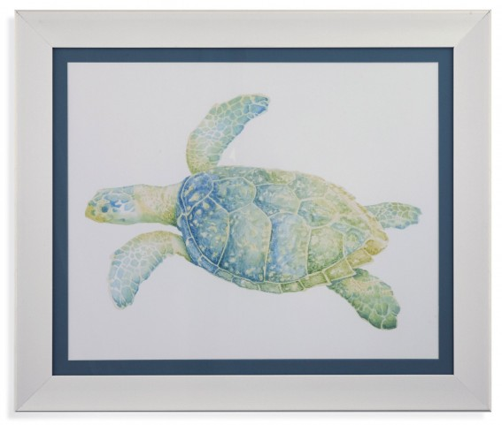 Tranquil Sea Turtle II Wall Art