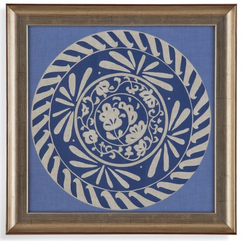 Indigo Earthen Ware I Wall Art