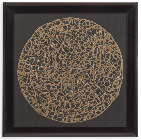 Gold Decograph Wall Art