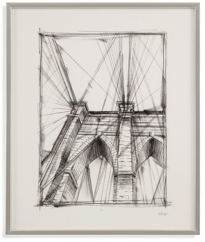 Graphic Architectural Study III Wall Art