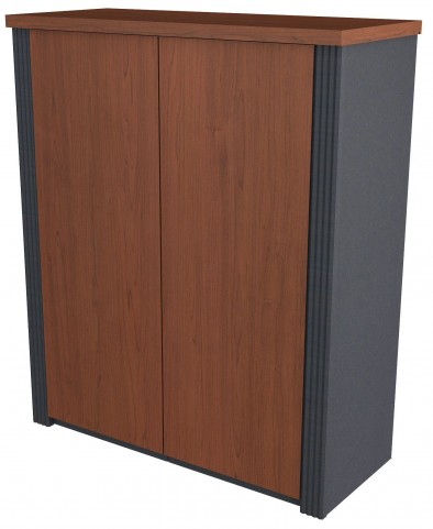 "Prestige Plus Bordeaux & Graphite 30"" Cabinet"
