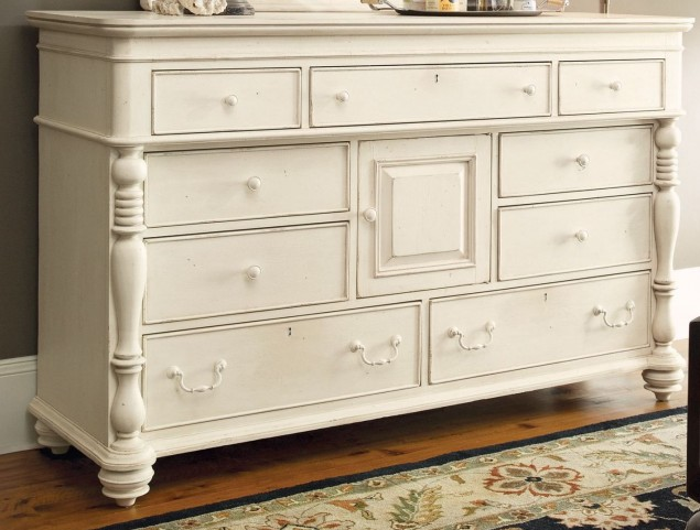 Paula Deen Home White Door Dresser