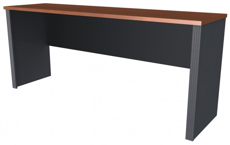 Prestige Plus Bordeaux & Graphite Desk