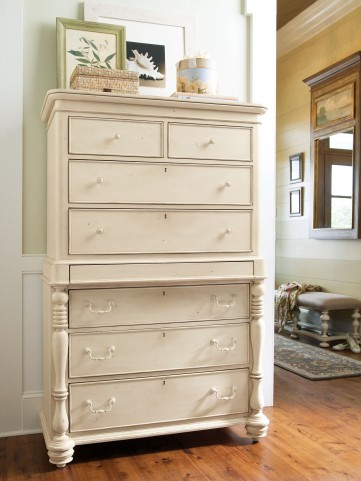 Paula Deen Home Linen Tall Chest