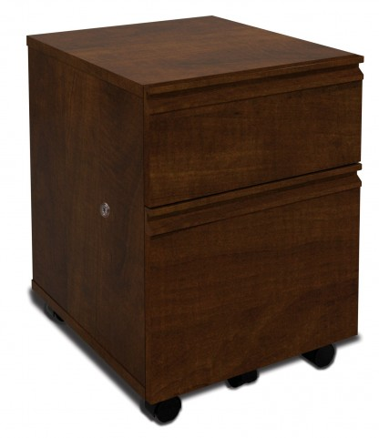 Prestige Plus Mobile Pedestal In Chocolate