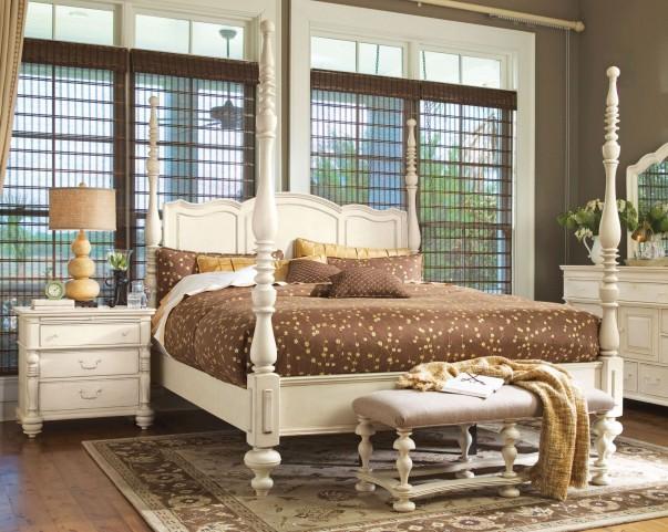 Paula Deen Home Linen Savannah King Poster Bed