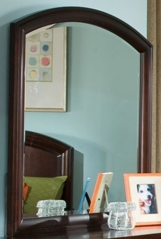 Park City Merlot Arched Dresser Mirror