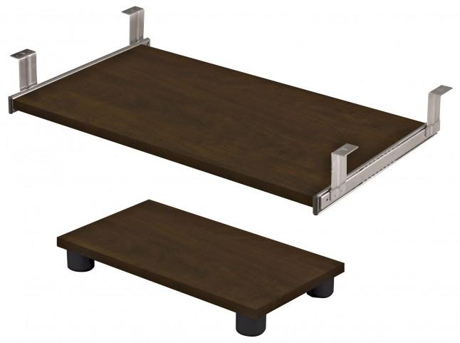 Prestige Plus Chocolate Keyboard Shelf and CPU Platform