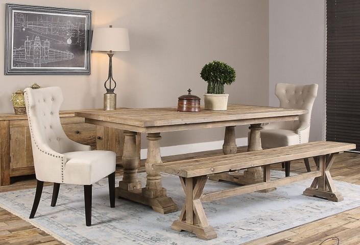 Stratford Salvaged Wood Rectangular Dining Room Set