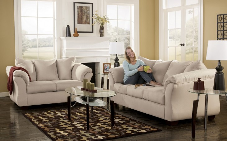 Darcy Stone Living Room Set