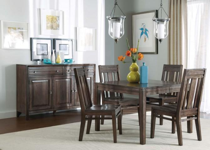 Montreat Rectangular Extendable Dining Room Set