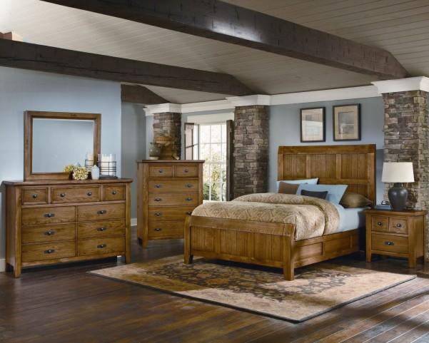 Timber Mill Oak Timber Bedroom Set