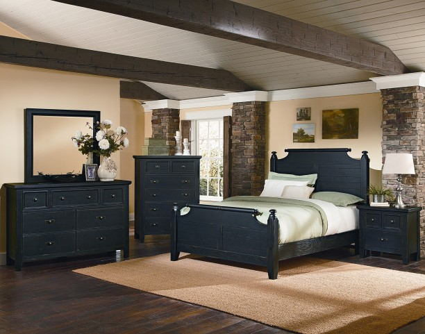 Timber Mill Charcoal Youth Broomhandle Bedroom Set