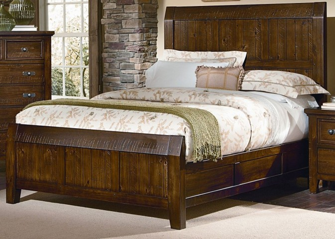 Timber Mill Pine King Timber Bed