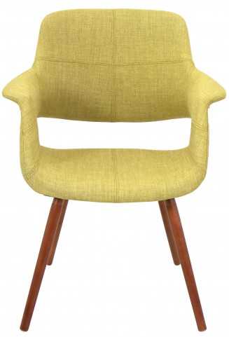 Vintage Flair Green Chair
