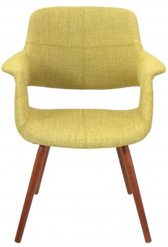 Vintage Flair Green Chair
