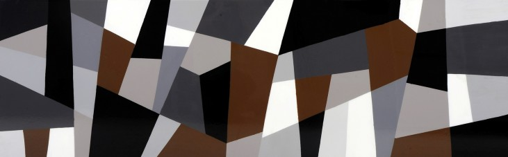 Grey Cubism Canvas Wall Art