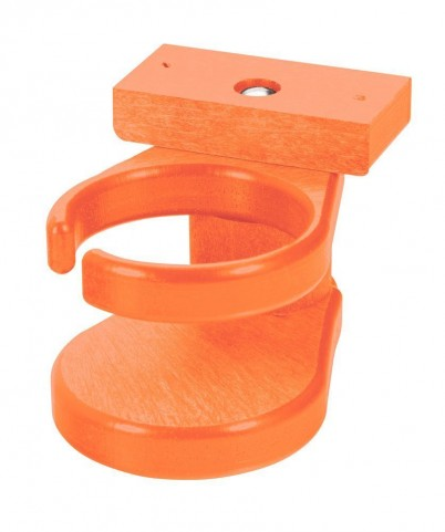 Generations Orange Adirondack Chair Cup Holder