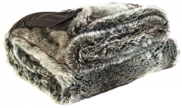 VanLander Charcoal Throw Set of 3