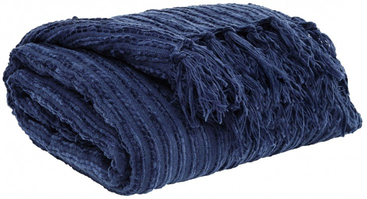 Noland Navy Throw Set of 3