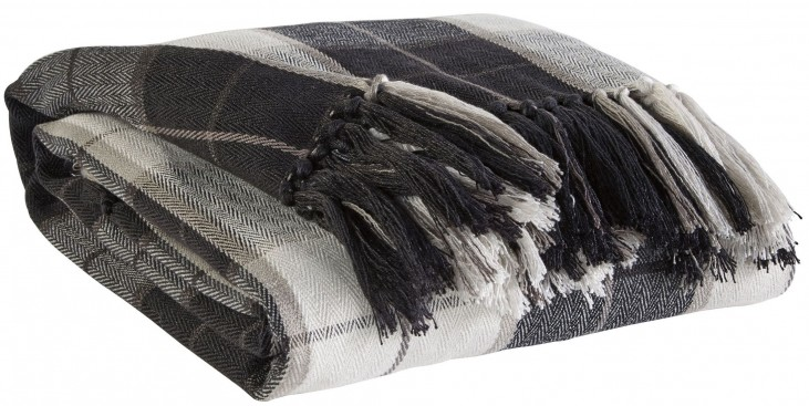 Raylan Black Throw Set of 3