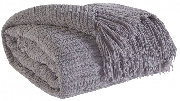 Santino Gray Throw Set of 3