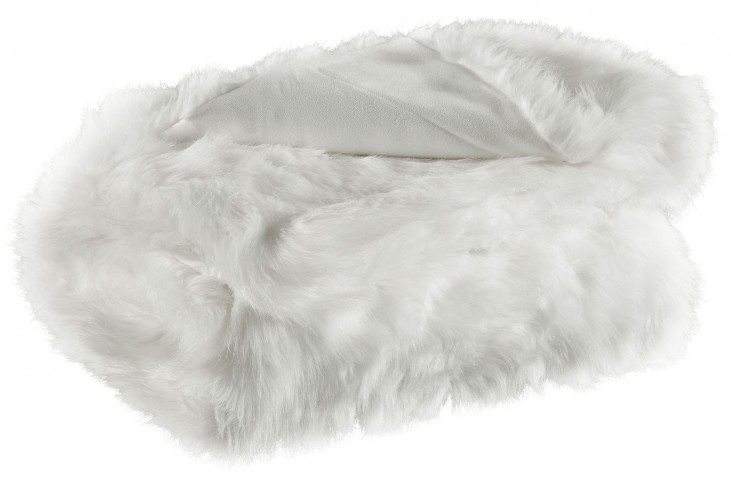 Himena White Throw Set of 3