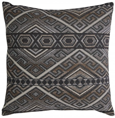 Erata Gray and Brown Pillow Set of 4