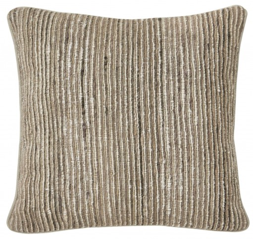 Avari Tan and Taupe Pillow Set of 4