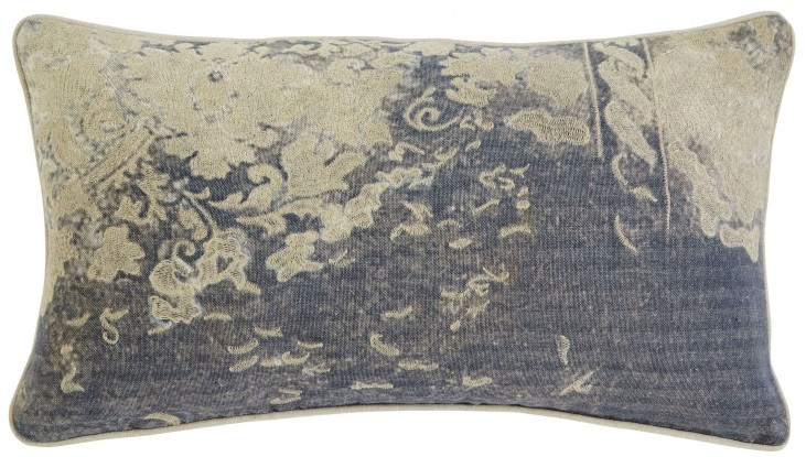 Patterned Gray Pillow Set of 4