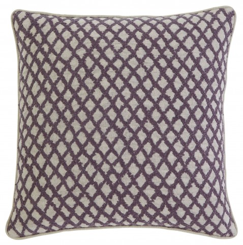 Stitched Plum Pillow Cover Set of 4