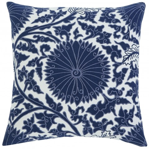 Medallion Navy Pillow Cover Set of 4