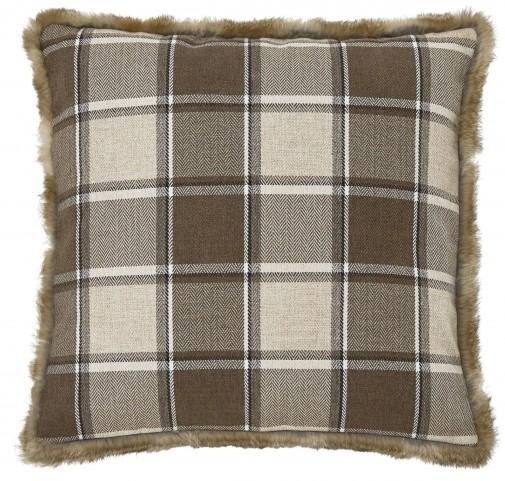 Smythe Brown Pillow Set of 4