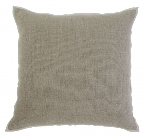 Solid Khaki Pillow Cover Set of 4