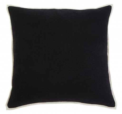 Solid Navy Pillow Cover Set of 4