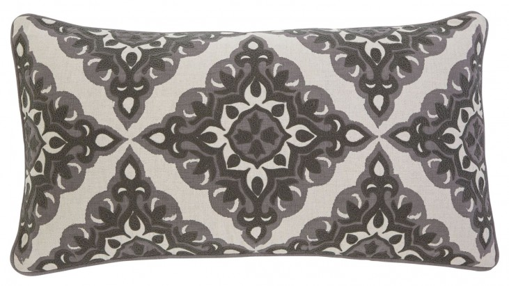 Geometric Gray Pillow Set of 4