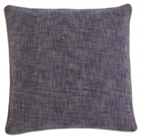 Textured Navy Pillow Cover Set of 4